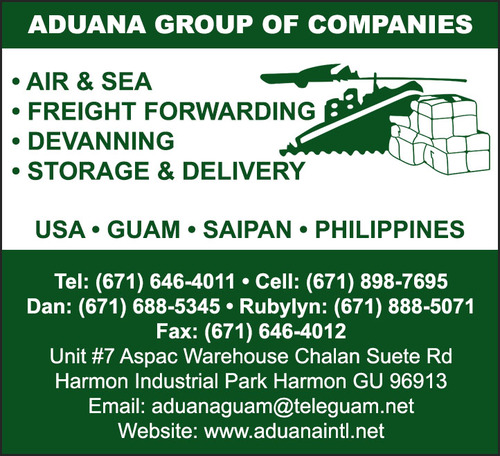 Aduana Group of Companies - Freight Forwarding - Guam Online