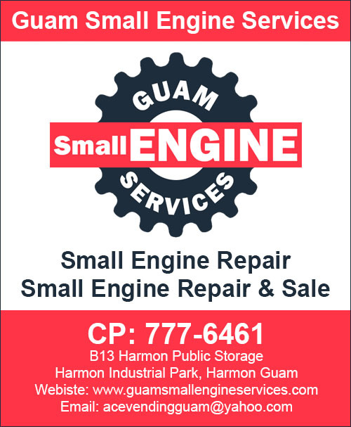 Guam Small Engine Services - Small Engine Repair & Sale