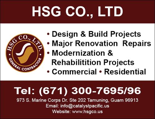 Contact HSG Co , Ltd, Construction Companies in Tamuning, Guam