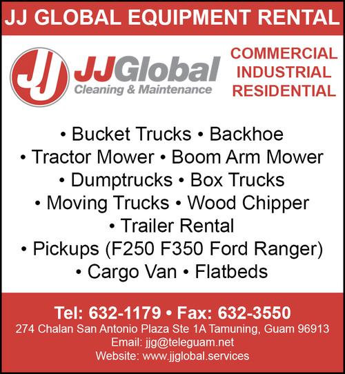 Equipment Rentals - Find Guam Online Directory News, Reviews