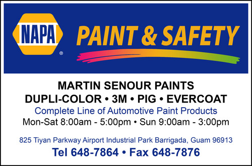 Barrigada Online Directory - NAPA PAINT & SAFETY - Online