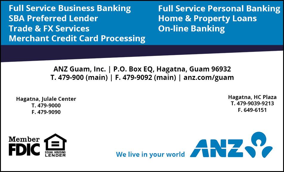 Online Directory - ANZ GUAM,INC - Online Directory