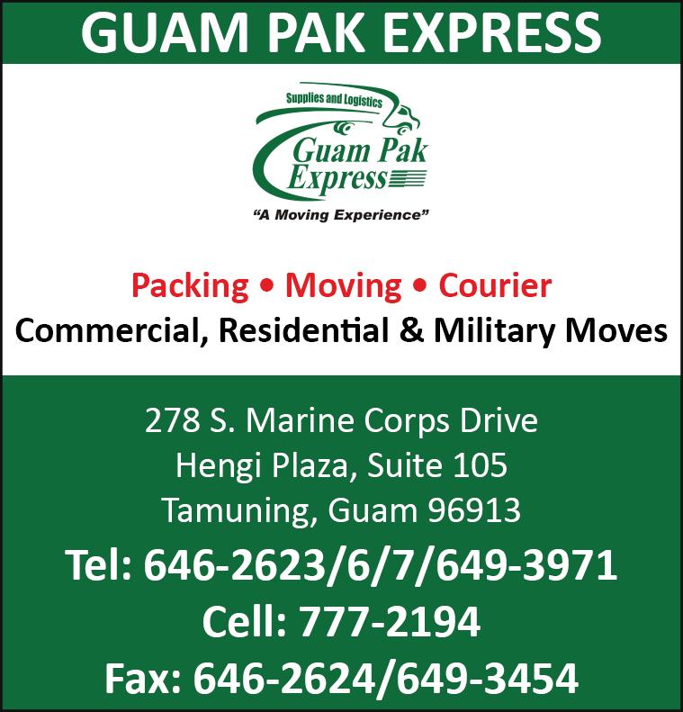 Online Directory Guam Pak Express Online Directory