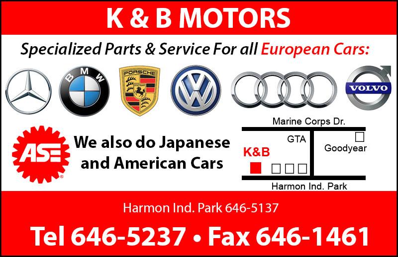 Harmon Online Directory - K & B MOTORS - Online Directory