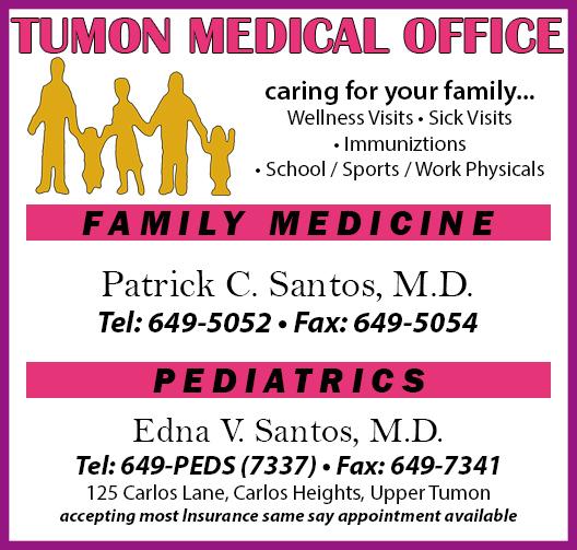 Logo, TUMON MEDICAL OFFICE Company Logo By TUMON MEDICAL OFFICE In Upper  Tumon