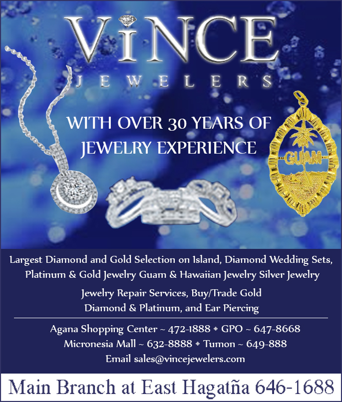 Hagatna online directory vince jewelers online directory for Lin s jewelry agana guam